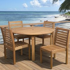 <strong>International Home Miami</strong> Amazonia 5 Piece Dining Set