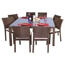 Atlantic 9 Piece Dining Set