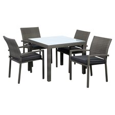 <strong>International Home Miami</strong> Atlantic Liberty 5 Piece Dining Set