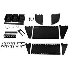 <strong>Wall Control</strong> Slotted Tool Board Workstation Accessory Kit