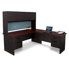 Pronto Executive Desk with Return and Lock