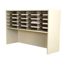 Mailroom 20 Pocket Sorter/Riser