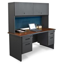 Pronto Double File Executive Desk