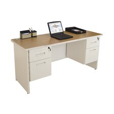 Pronto Double Pedestal Executive Desk