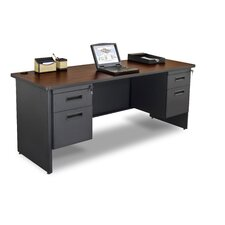 Pronto Executive Desk with Double Pedestal