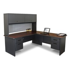 <strong>Marvel Office Furniture</strong> Pronto Computer Desk with Return and Pedestal