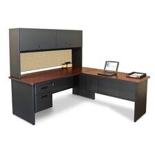 Pronto Executive Desk with Return