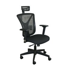 <strong>Marvel Office Furniture</strong> Executive Mesh Chair with Headrest