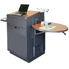 <strong>Marvel Office Furniture</strong> Zapf Office Support Media Center Lectern with Steel Door
