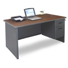 Pronto Single Pedestal Executive Desk