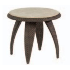 Bali End Table with Stone Top