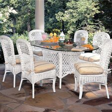 Empire 7 Piece Oval Dining Set