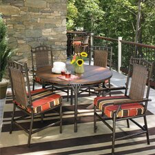 <strong>Whitecraft</strong> Chatham Run 5 Piece Round Dining Set