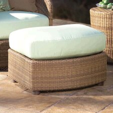 <strong>Whitecraft</strong> Oasis Half Ottoman with Cushion