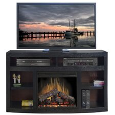 """Moondance 68"""" TV Stand with Electric Fireplace"""