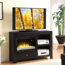 "Cosmopolitan 54"" TV Stand with Electric Fireplace"