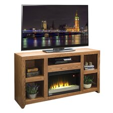 "Cityscape 62"" TV Stand with Electric Fireplace"