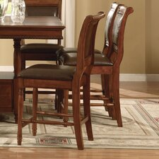 "Cambridge 24"" Counter Height Bar Stool in Cherry"