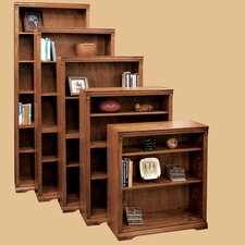 Scottsdale Oak Bookcase with 1 Fixed and 3 Adjustable Shelves