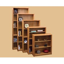 Contemporary Bookcase with 1 Fixed and 4 Adjustable Shelves
