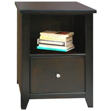 Urban Loft File Cabinet in Mocha