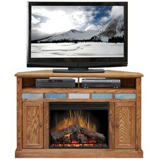 "Oak Creek 56"" TV Stand with Electric Fireplace"