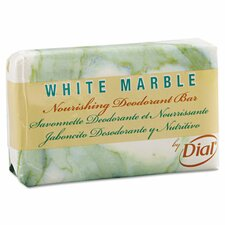 White Marble Deodorant Soap Bar - 2.5 OZ