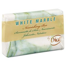 <strong>Dial</strong> White Marble Basics Bar Soap