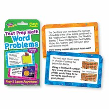 Math Grades 4-6 Challenge Flash Card (Set of 56)