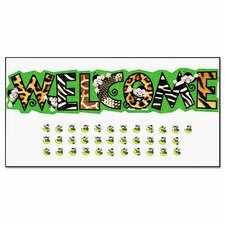 Monkey Mischief Welcome Bulletin Board Set