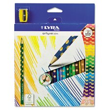 <strong>Lyra</strong> Groove Slim Colored Pencils (Pack of 24)