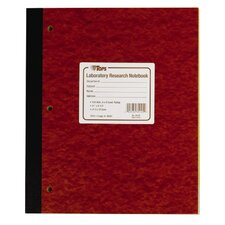 100 Numbered Carbon Laboratory Research Notebook (Set of 5)