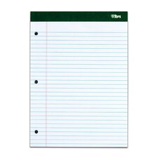 80 pt. Chip Double Docket 3 Hole Punched Legal Rule Legal Pad (Set of 24)
