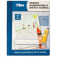 "9.75"" x 7.5"" Primary Handwriting and Sketch Journal (Set of 24)"