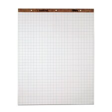 "15 lbs 1"" Squares 3 Hole Punched Easel Pad (Set of 4)"