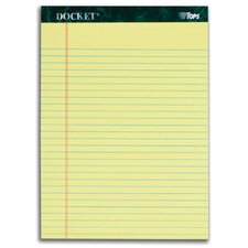 60 pt. Docket Legal Rule Legal Pad (Set of 72)