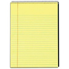 60 pt. Docket Legal Pad Wirebound Notebook (Set of 12)