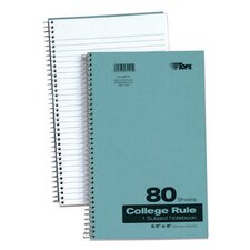 College Ruled Kraft Notebook (Set of 24)