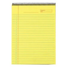 60 pt. Docket Gold Top Wire Notebook (Set of 12)