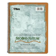 Second Nature 1 Subject College Ruled Notebook (Set of 48)