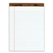 30 pt. Perforated Legal Rule Legal Pad (Set of 18)
