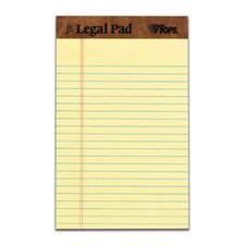 30 pt. Perforated Jr. Legal Rule Legal Pad (Set of 144)