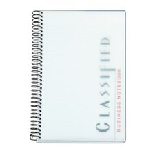 20 lbs Classified Business Plastic Cover Notebook (Set of 24)
