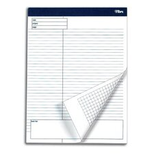 60 pt. Docket Gold Wide Margin Project Planning Pad (Set of 4)