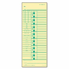 Time Card for Acroprint and Simplex (500 Pack)