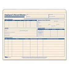Employee Record Master File Jacket (15 Pack)