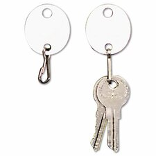 Oval Snap-Hook Key Tags (Pack of 20)