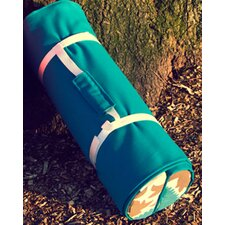Casual Outdoor Living Roll-Up Blanket with Bolster Pillows