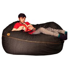 Denim 5.5 ft Bean Bag Sofa
