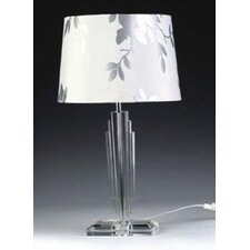 """Skyscraper 23.62"""" H Table Lamp with Drum Shade"""
